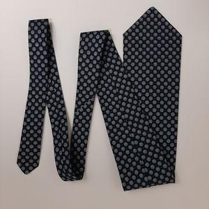 Givenchy vintage mens silk tie. 1974